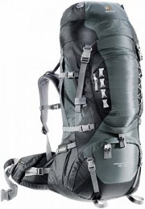 Рюкзак DEUTER Aircontact PRO 60+15 granite-black
