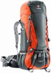 Рюкзак Deuter Aircontact 55 + 10 granite-papaya