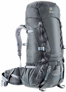 Рюкзак Deuter Aircontact 55 + 10 granite-black