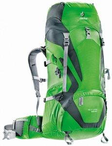 Рюкзак Deuter ACT Lite 50 + 10 spring-granite