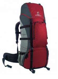 Рюкзак DEUTER Patagonia 60+10 grey/red